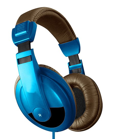 Black &amp; Blue DJ Headphones