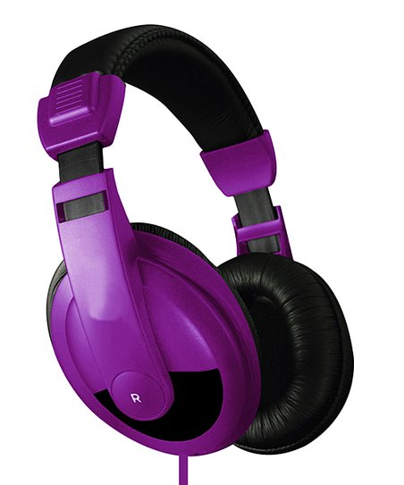 Purple DJ Headphones