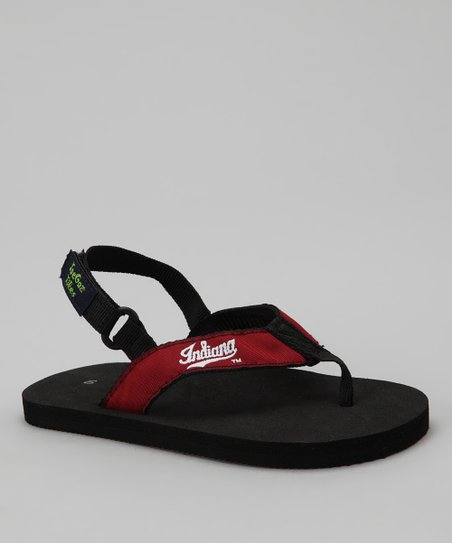 Black Indiana Tike Sandals - Kids