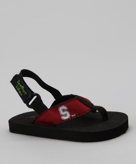 Black Stanford Tike Sandals - Kids