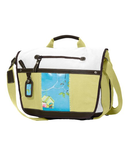 Blue Sky Eden Messenger Bag