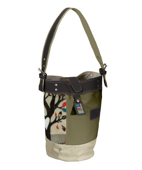 Falling Tree Bali Bucket Bag