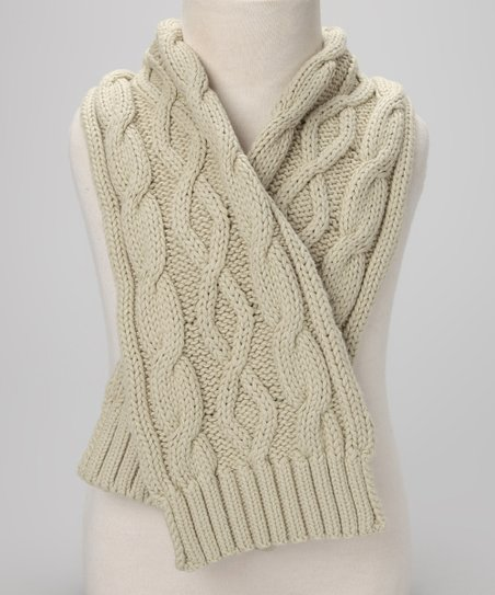 Sandy Knitted Scarf - Infant