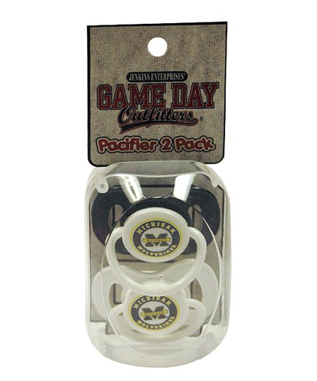 Michigan Pacifier Set