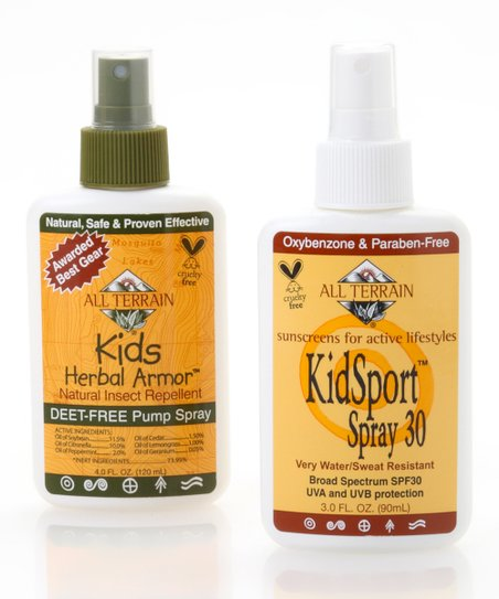 Natural KidSport Bug & Sun Spray Set