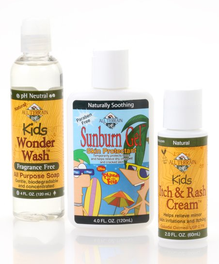 Natural Kids Itch &amp; Sunburn Soothing Set