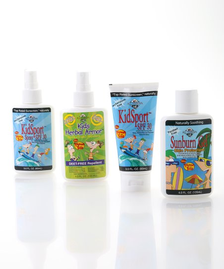 Natural Kids Disney Sun & Bug Protection Set