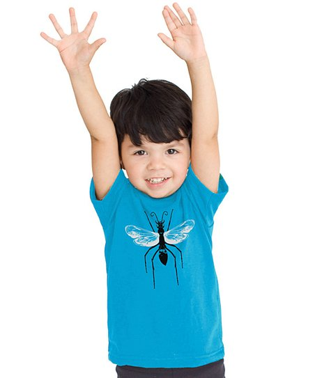 Blue Wasp Tee - Toddler & Boys