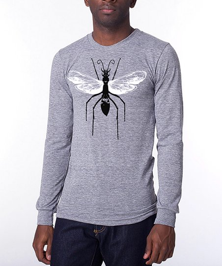 Heather Wasp Long-Sleeve Tee - Men