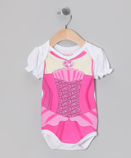 White Princess Bodysuit - Infant