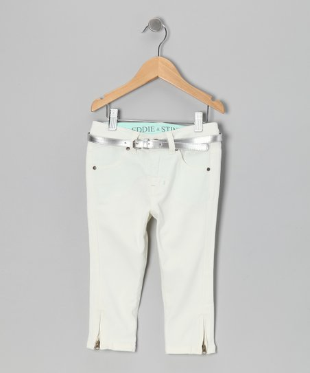 Porcelain Yacht Capri Pants - Girls