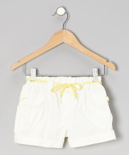 Porcelain Mini Ripstop Shorts - Girls