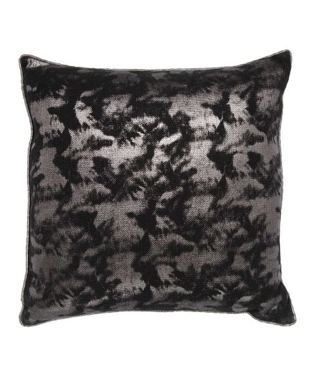 Black & Silver Pillow