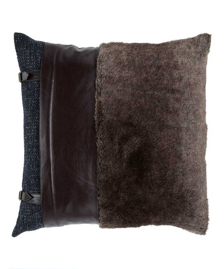 Brown Rustic Pillow