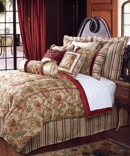 Crimson Dempsey Comforter Set