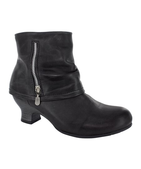 Black Saltzburg Ankle Boot - Women