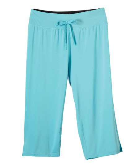 Aqua Capri Pants - Plus