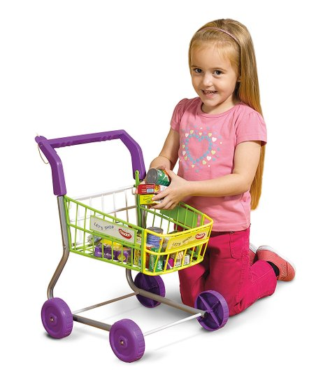 Shopping Cart Toy Set