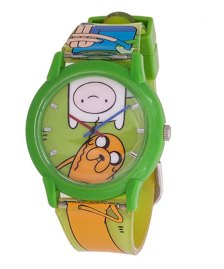 Yellow Adventure Time Finn & Jake Watch