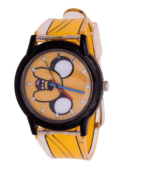 Orange Adventure Time Jake Watch