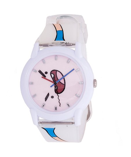 White Adventure Time Finn Watch