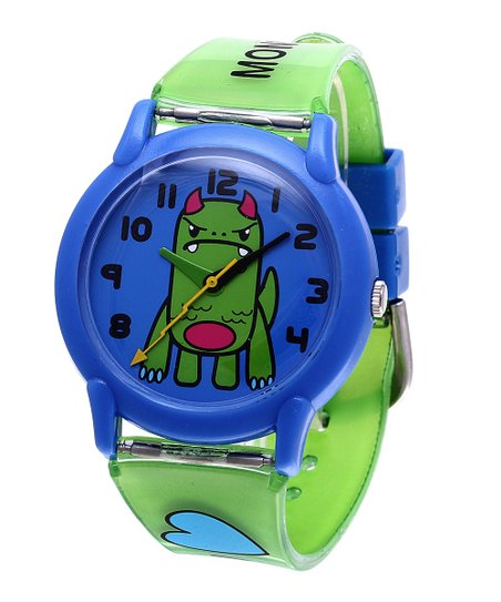 Green Tribe 'I Heart Monsters' Watch