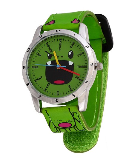 Green Tribe Face Watch