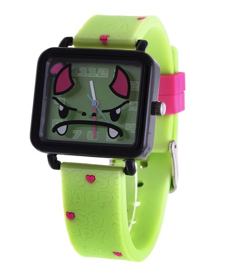 Green Tribe Square Face Watch