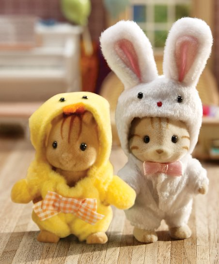 Bunny & Chick Dress Up Set