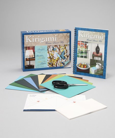 Kirigami Home Décor Kit Paperback