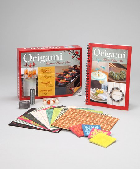 Origami Home Décor Kit Paperback