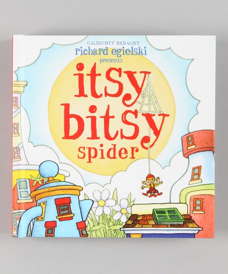 Itsy Bitsy Spider Pop-Up Hardcover