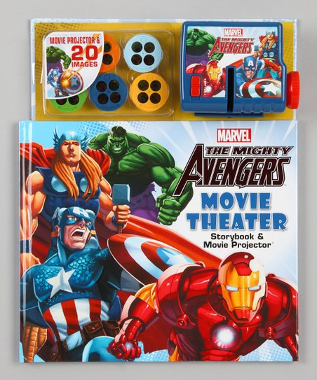 The Mighty Avengers Movie Theater Set
