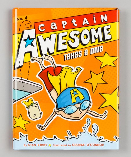 Captain Awesome Takes a Dive Hardcover