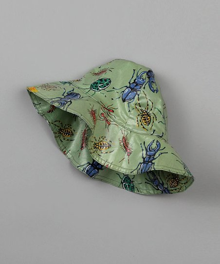 Green Bug Rain Hat