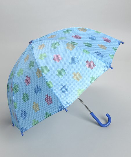 Blue Robot Umbrella
