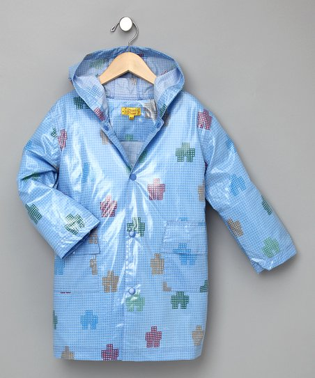 Blue Robot Raincoat - Infant, Toddler & Kids