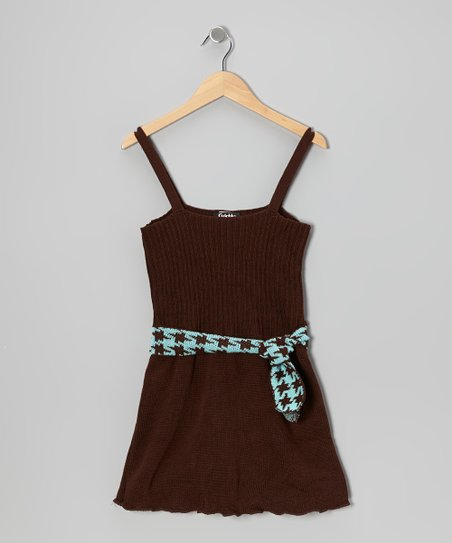Brown Houndstooth Pret a Danser Dress - Women