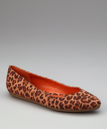 Natural Cheetah Hedy Flat