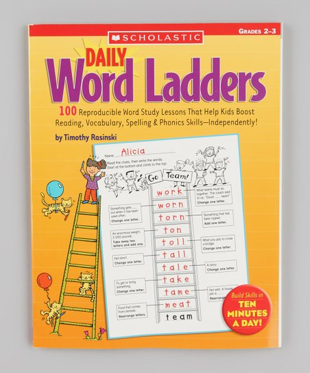 Daily Word Ladders Grades 2 to 3 Paperback
