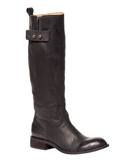Black Bailey Riding Boot - Women