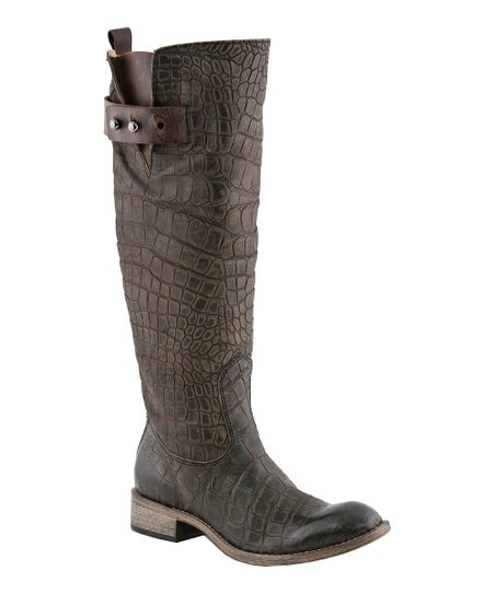 Chocolate Bailey Riding Boot - Women