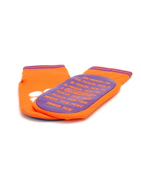 Clemson Tigers Gripper Socks