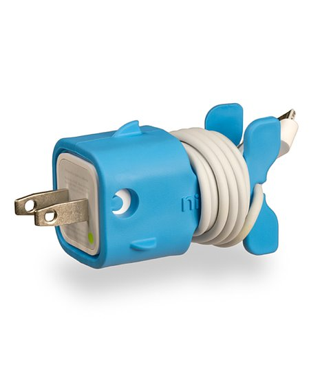 Light Blue Goldie CableKeep for iOS