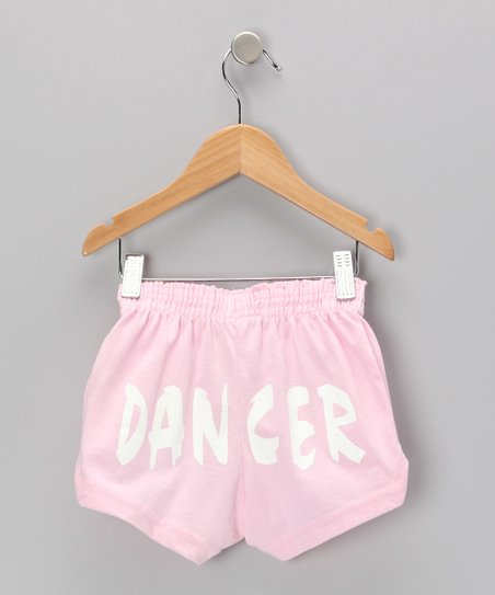 Pink 'Dancer' Shorts - Toddler, Girls & Women