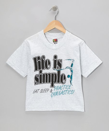 Ash 'Life Is Simple' Tee - Girls & Women