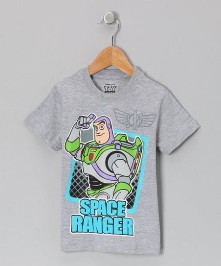 Gray 'Space Ranger' Tee - Toddler