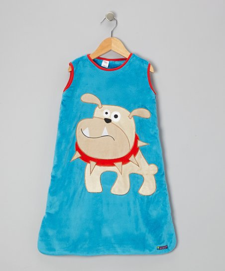 Blue Bulldog Sleeping Sack