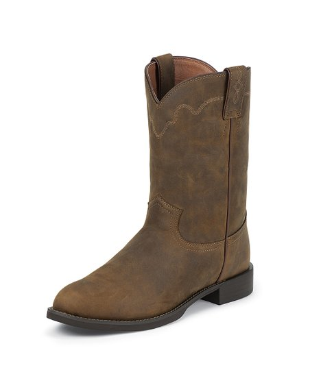 Tan Stampede Roper Cowboy Boot - Women