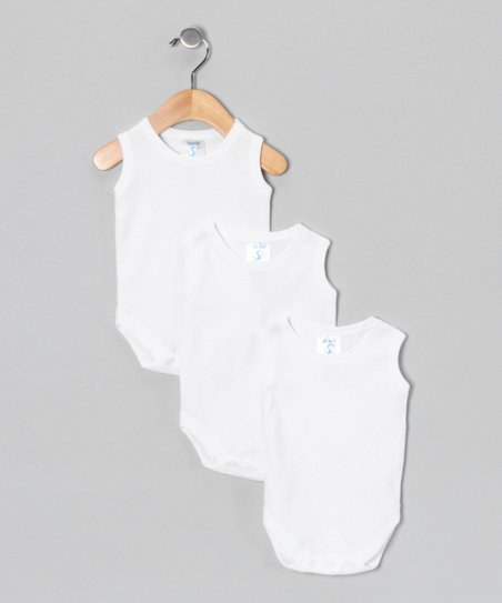 White Tank Bodysuit Set